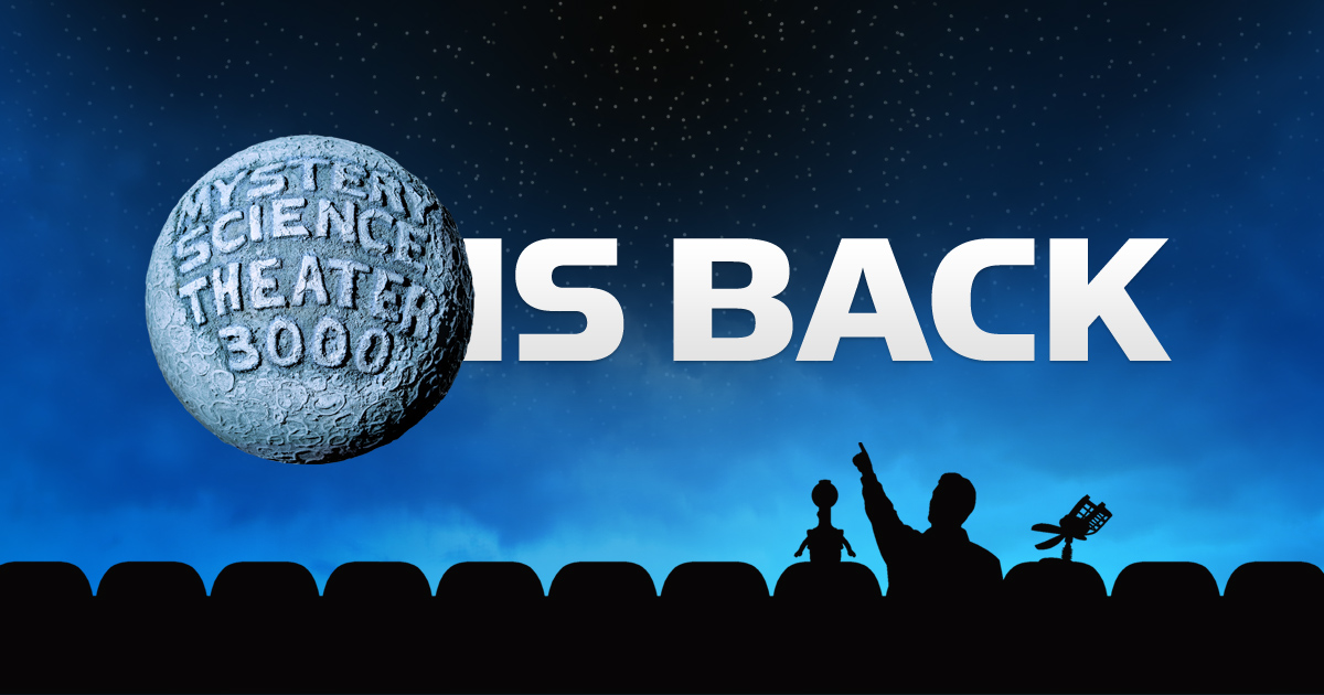 Mystery Science Theater 3000 Lives Again – The New York MST3K Screening &Afterparty