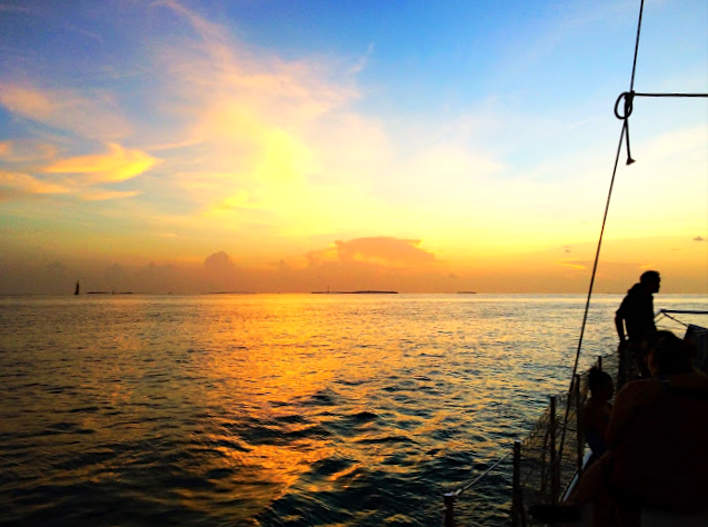 Our Favorite Way to See A Key West Sunset
