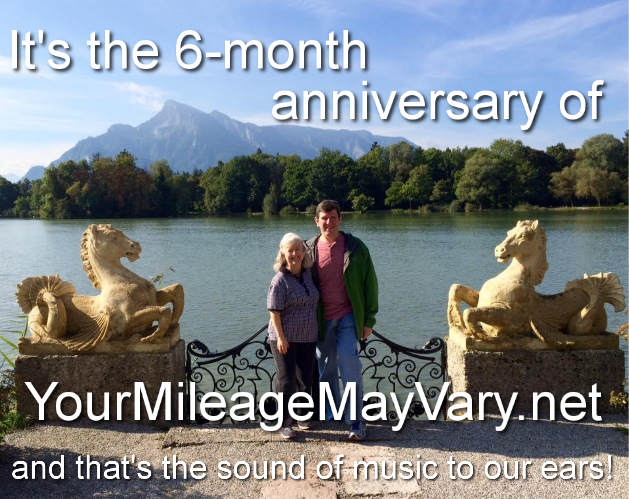 """Your Mileage May Vary"" is 6 Months Old Today & To Celebrate, We're Holding A Contest!"
