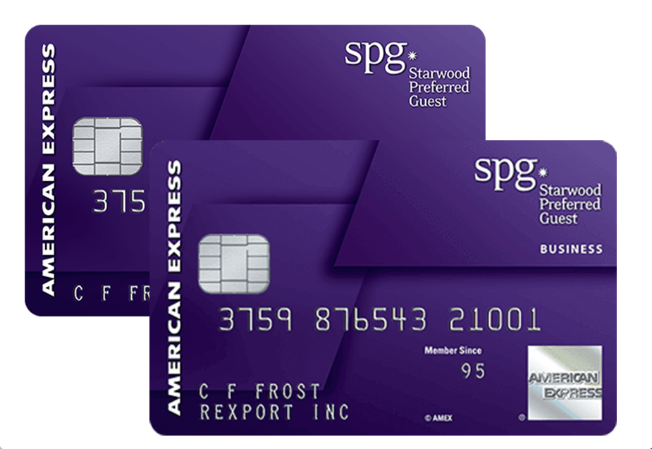 Credit Card Review: Starwood Preferred Guest Credit Cards from American Express