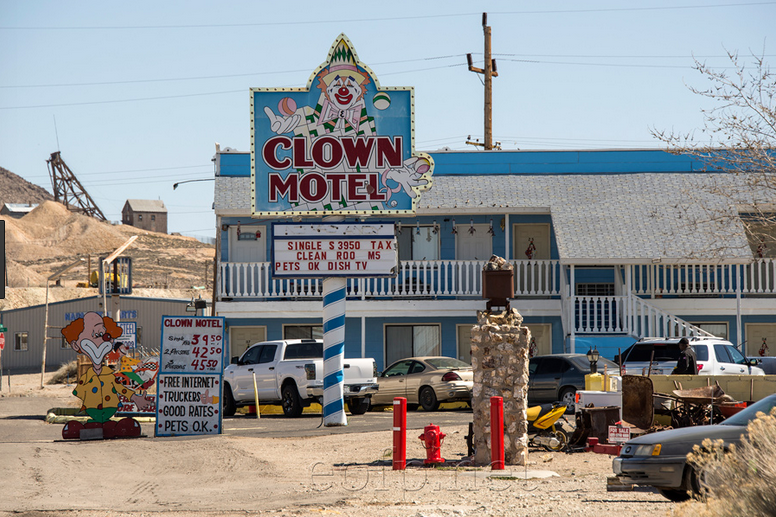 For Sale: One Clown Motel, Possibly Haunted, Next Door To ACemetery