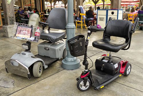 Renting wheelchairs ecv scooters strollers when you re for Motorized scooter rental disneyland