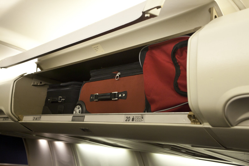 No, My Carry On Bag Is NOT Too Big To Fit In The Overhead