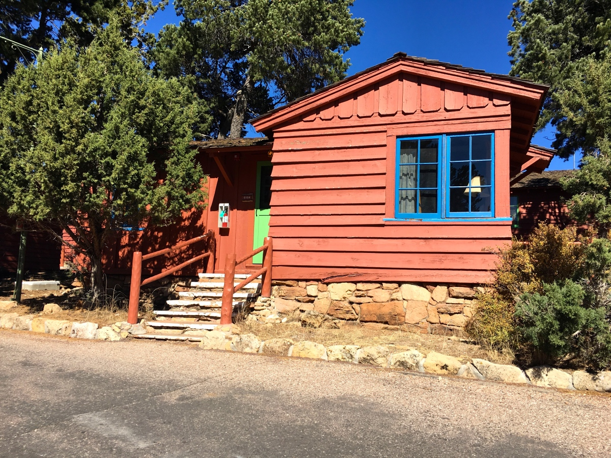 stock north images cabin lodge in canyon rim log grand photos back their family cabins a to tourist going photo