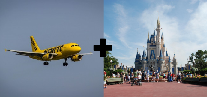 Spirit Airlines Working With Disney To Improve Its Customer Service