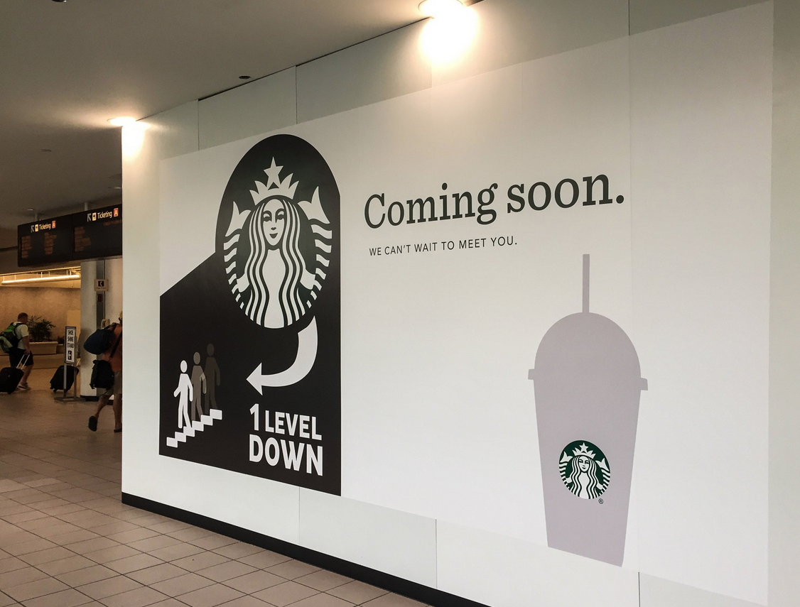 Starbucks at Orlando Int'l Airport Reopens, Soon To Sell Beer & Wine
