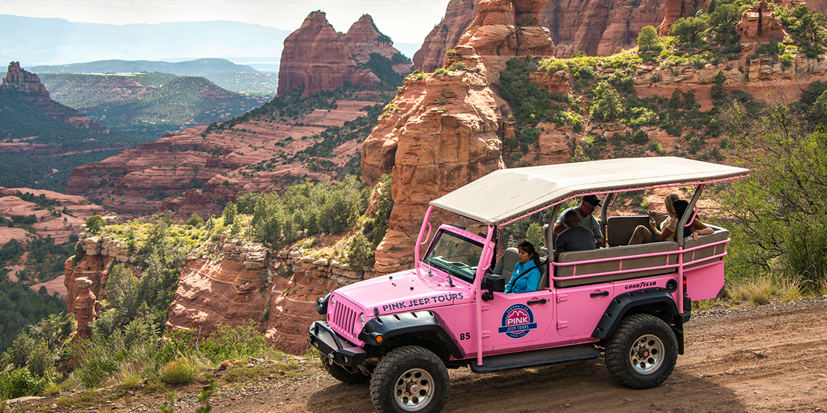 Our Favorite Way To See Sedona: In A PinkJeep