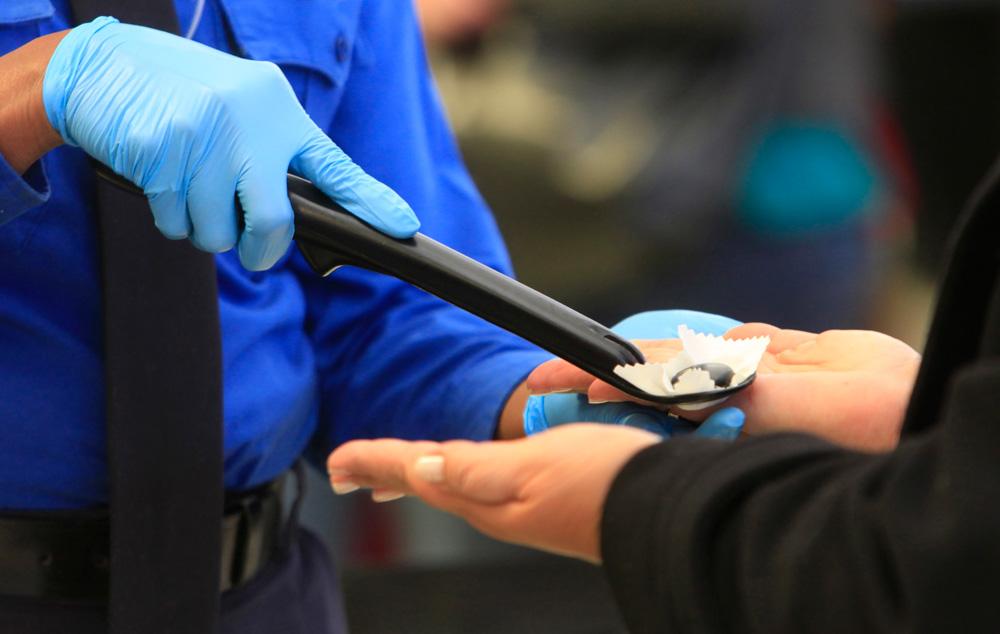 How To Help Avoid Getting A False Positive On TSA SwabTests