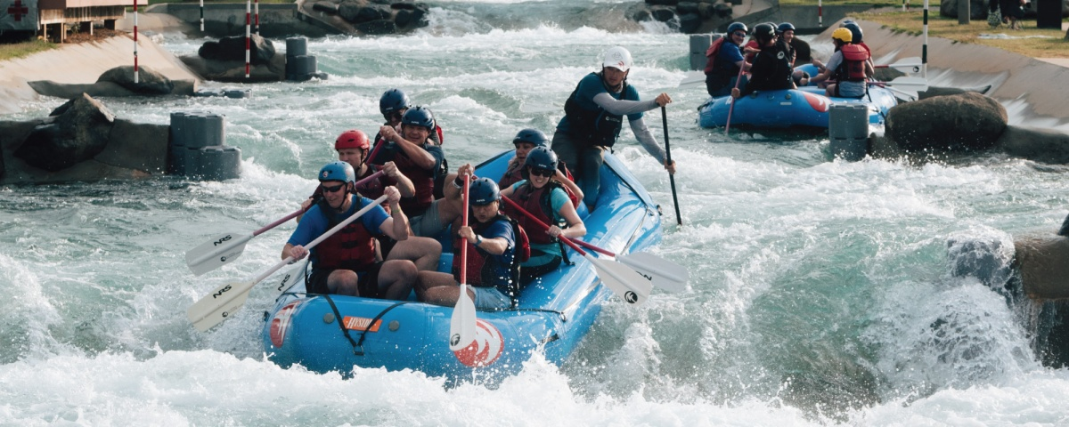 Adventure Awaits: Go Rafting On Some Incredible Man MadeRapids