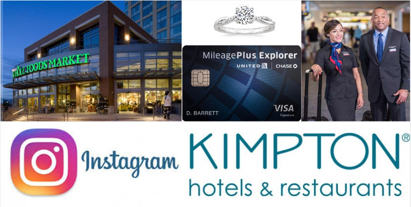 Get 5% Back at Whole Foods, Discounts & Bonuses At Kimpton, The Credit Card Sales Pitch That Isn't Always True + More!