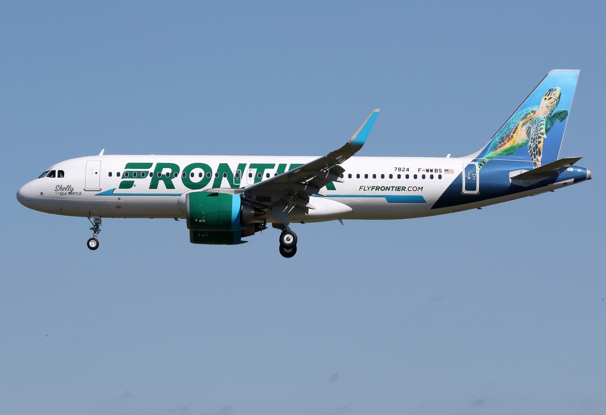 Quick Thoughts About Our First Flight With Frontier Airlines