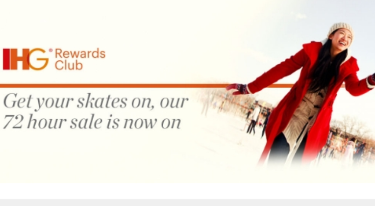 Flash Sale! Buy IHG Points For 0.5 Cents Each