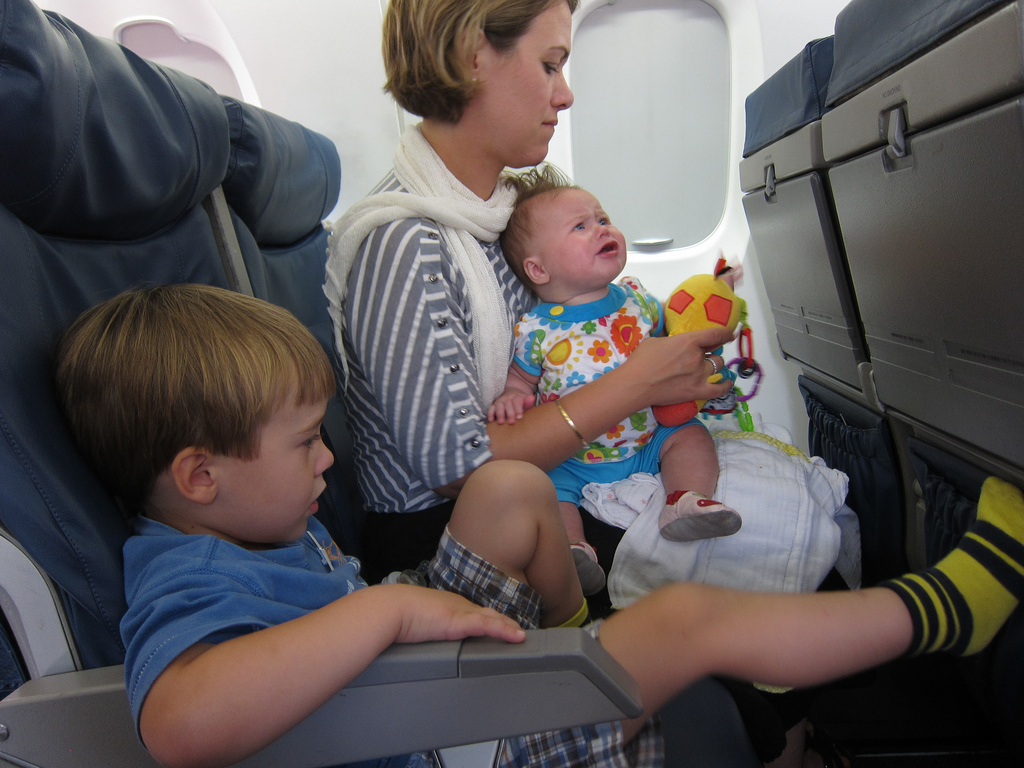 Could Child Free Zones On Planes Be In Our Future?