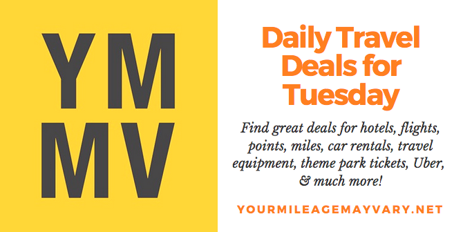 YMMV Travel Deals: Tue., July 10, 2018