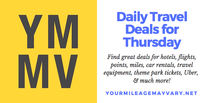YMMV Travel Deals: Thur., May 17, 2018