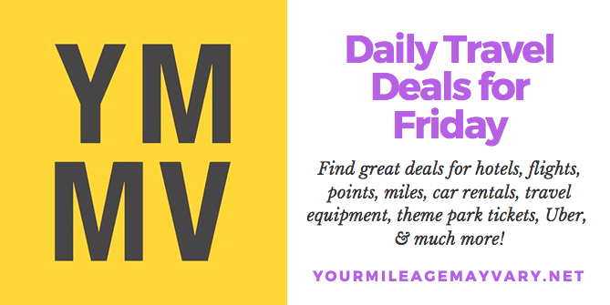 YMMV Travel Deals: Fri., May 18, 2018