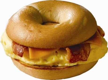 egg bacon cheese bagel