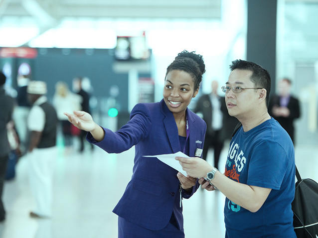 This Might Be The Happiest Airport EmployeeEVER!