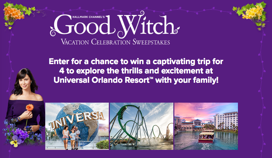 It's Sweepstakes Time! Win A Trip To Universal Orlando Resort™ With YourFamily!