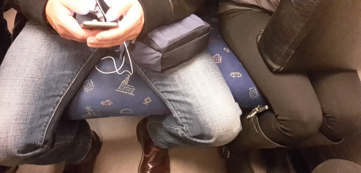How To Stop A Manspreader On A Plane In Three EasySteps