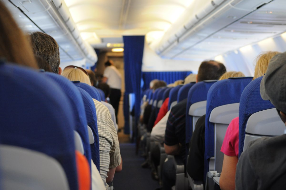 Couple Caught On Video Joining The Mile High Club – While In Their OwnSeats!