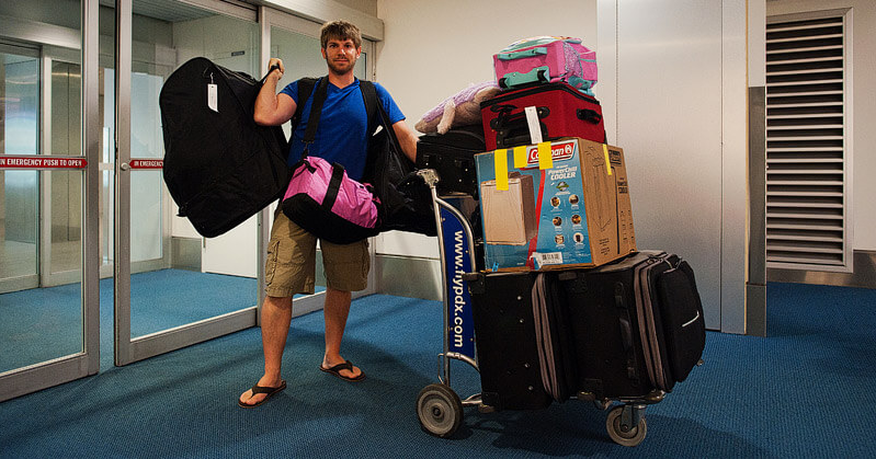 What To Do When You Have Too Much or Too HeavyLuggage