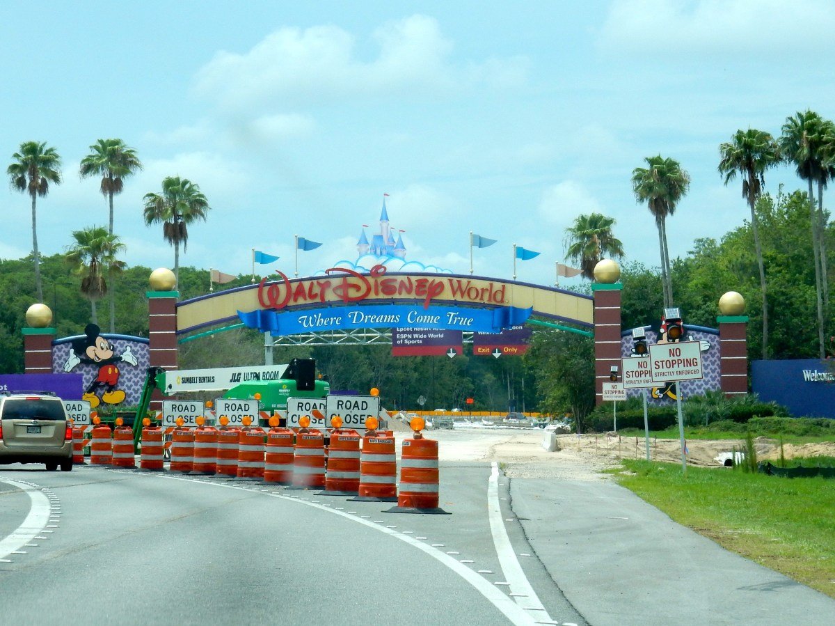 What's Up With All The Road Construction Around Walt Disney World?