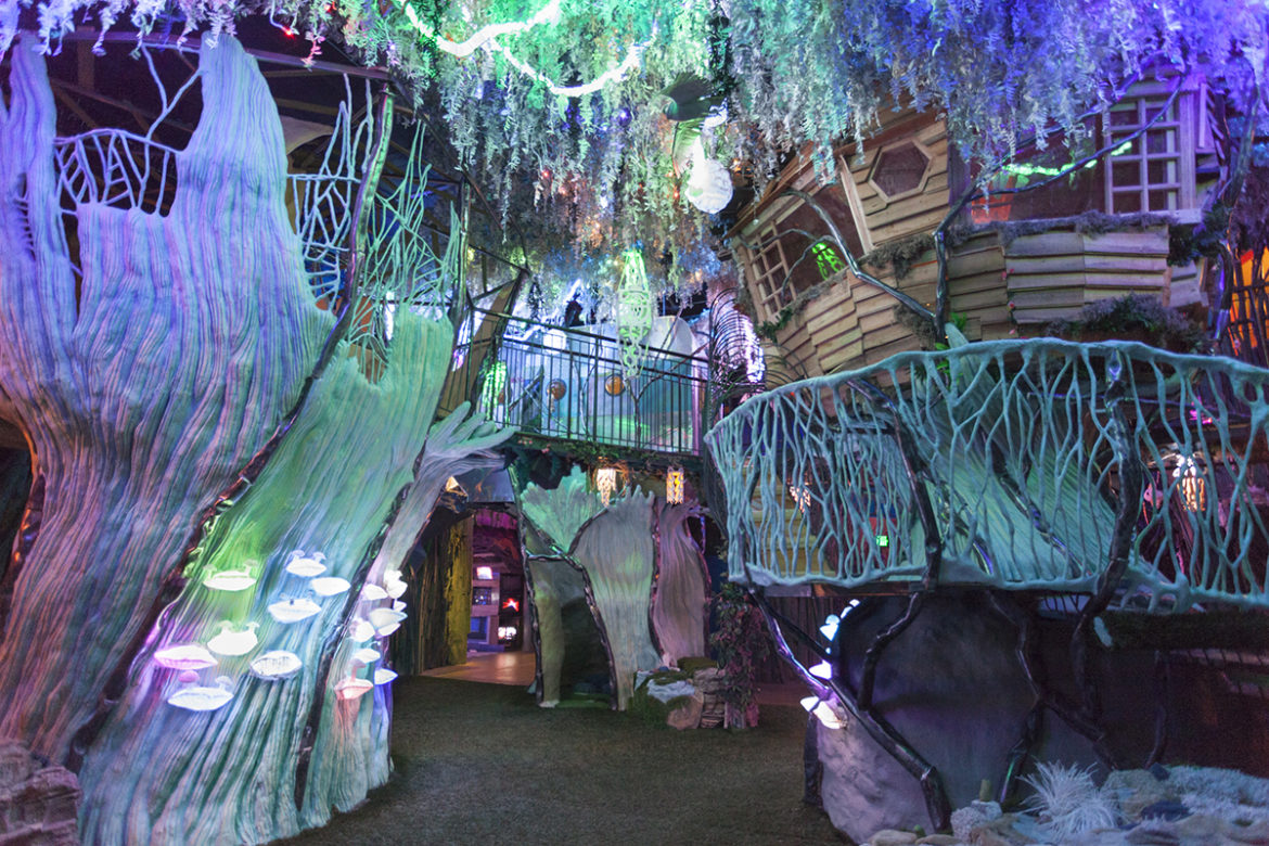 The Psychedelic Fun House That's An Experience For ANY Age (Thanks to George RRMartin)
